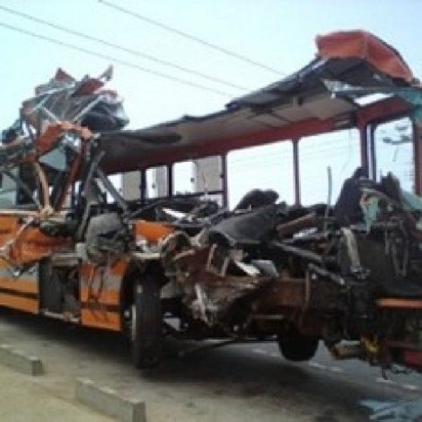 Kintampo Road Accident Claims Almost 50 Lives + Mahama Weeps