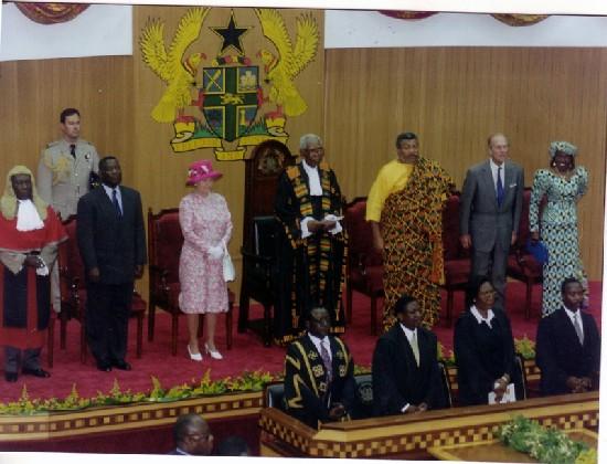 queen elizabeth president of ghana