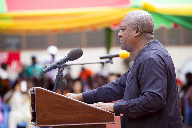 PHOTOS: Prez Mahama At The 17th Graduation Ceremony of All Nations University College