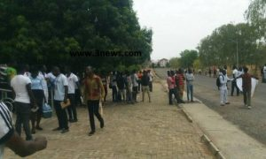 Bolga Poly Students Up In Arms Against SRC Over 'Exorbitant' 12-Seater Van