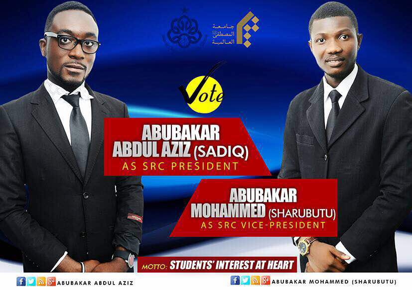 These Are The Campaign Promises Of The SRC Aspirants Of ...