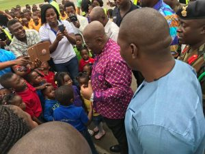 These School Children In Kumasi Are The Most Fortunate Tourists Ever