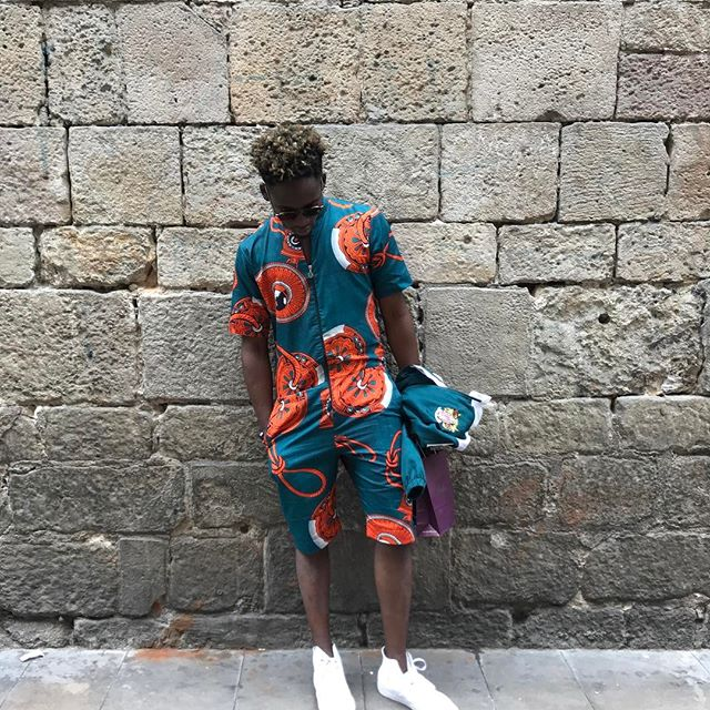 f24db93624b African-inspired fabrics and patterns are great ways to rock that romper.  Ankara has rich fashion quality and comes in different colors