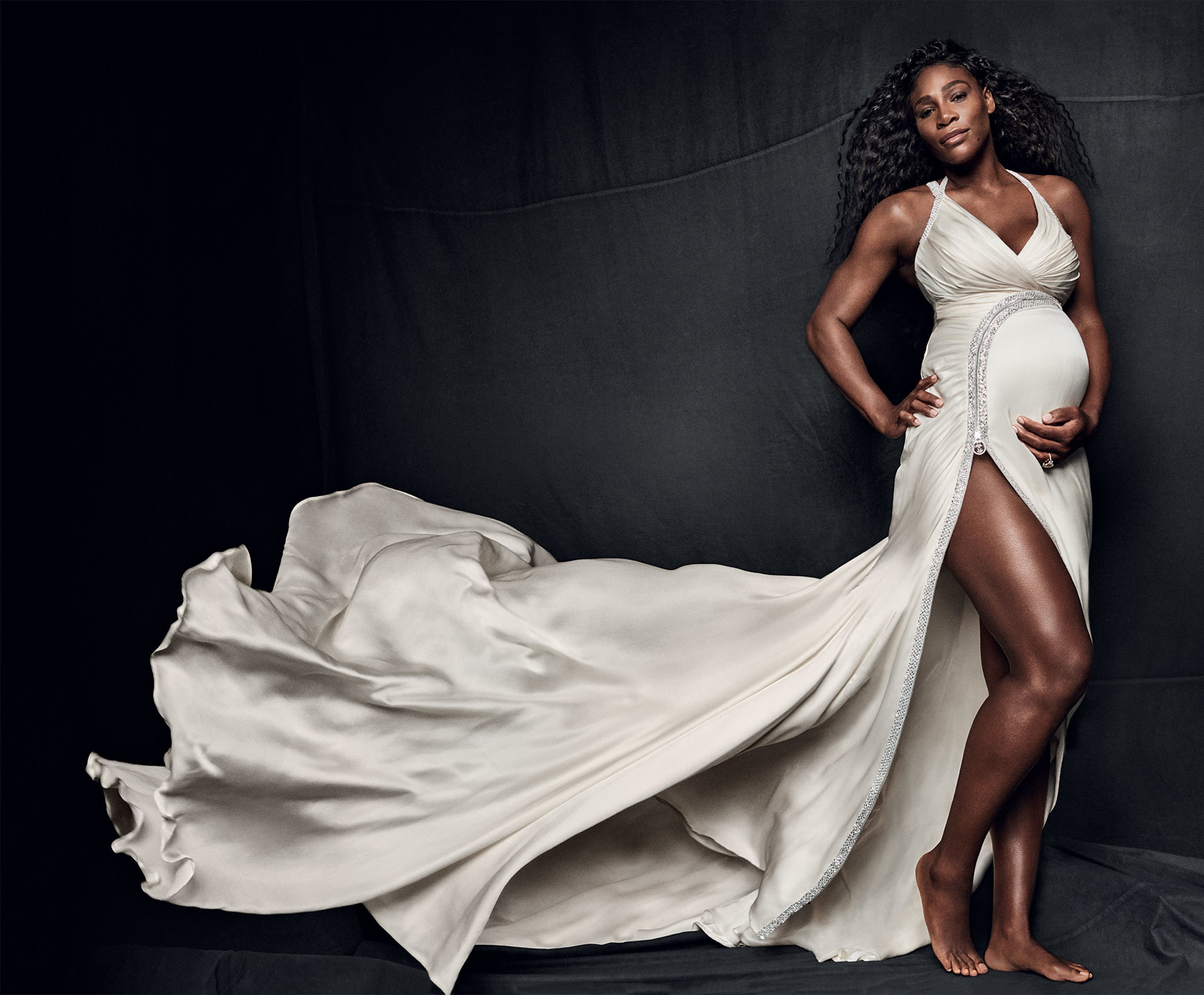 JUST IN: Serena Williams Is In Labour And This Is What You ...