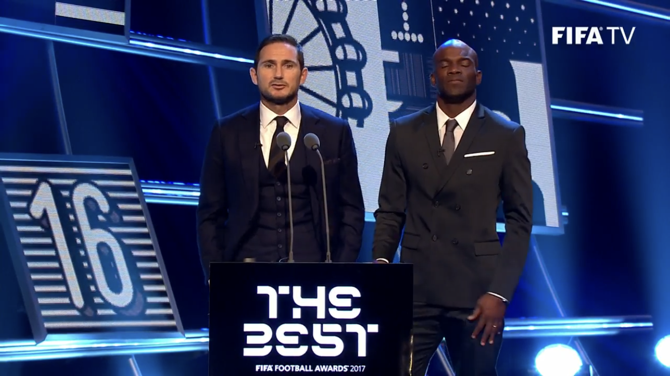 The Best Awards Frank Lampard