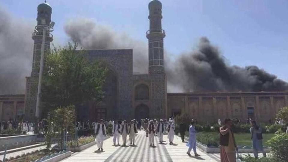 Egypt Bomb Blast Mosque