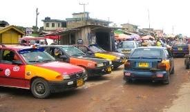 Ghana Taxis