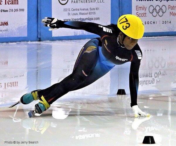 Maame Biney, Iceskating, us olympics