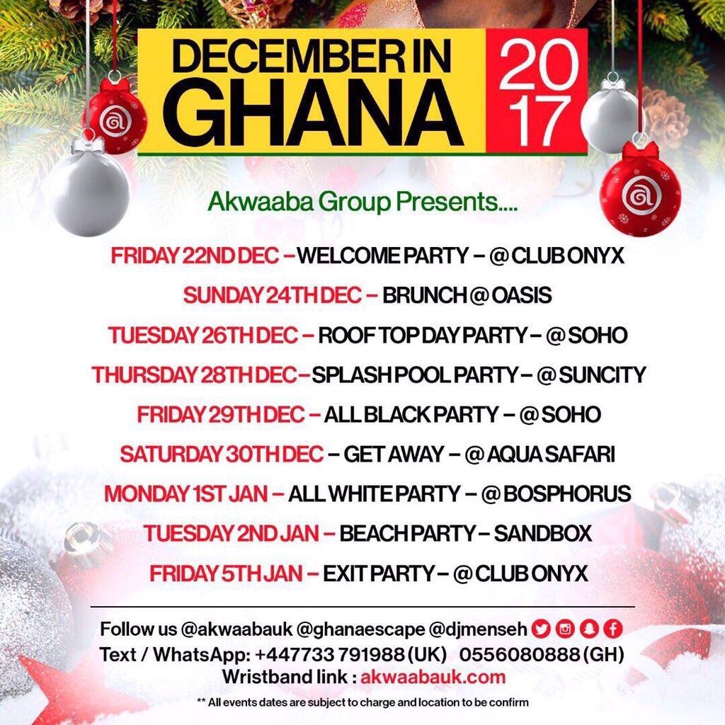 December in Ghana