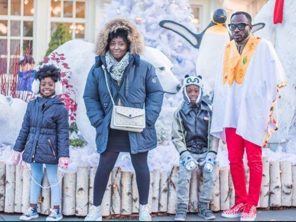 Okyeame kwame and his family