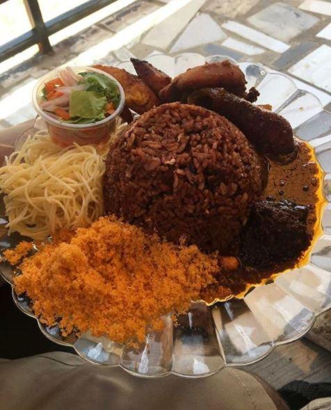 Melgees Eatery Waakye