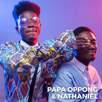 Papa Oppong and Nathan
