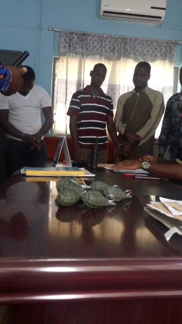 Ghana Police Explosive