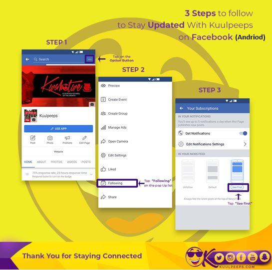 Kuulpeeps Andriod Facebook
