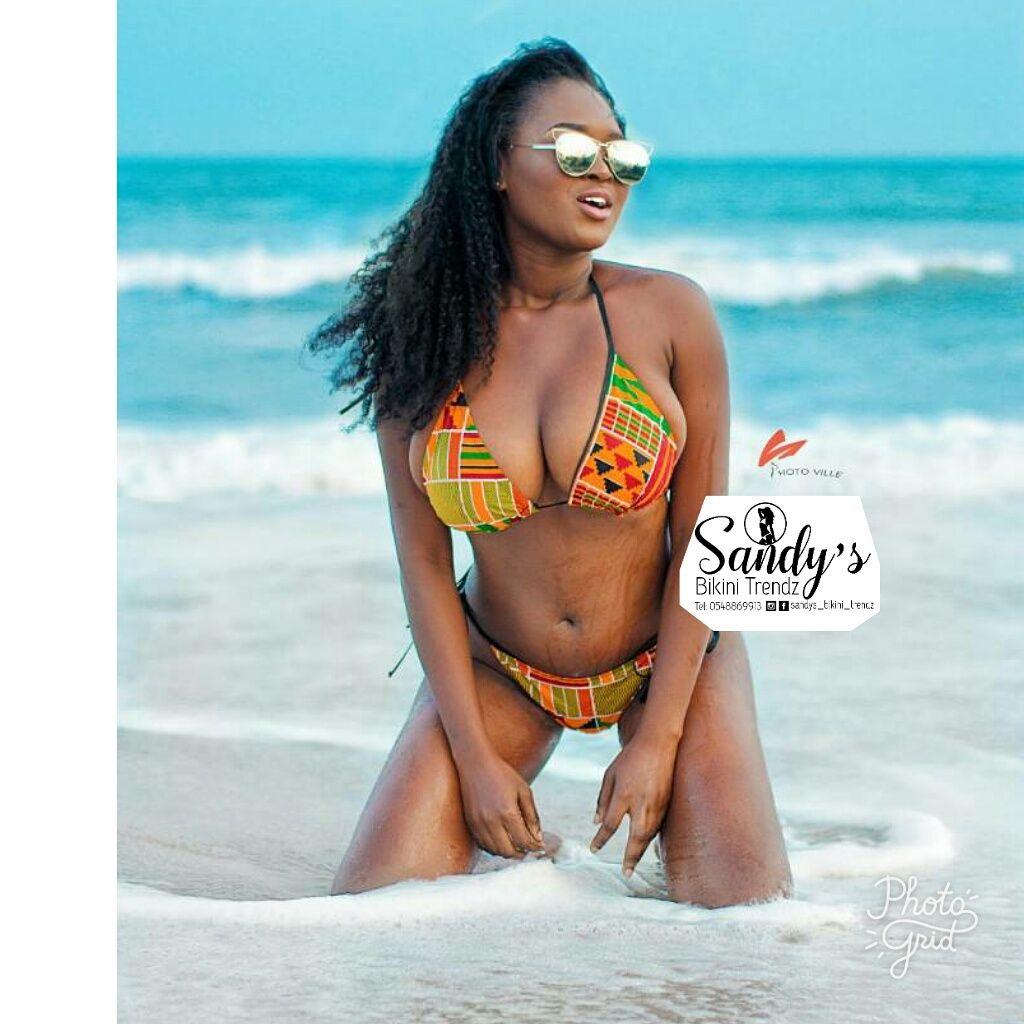 African print Bikini