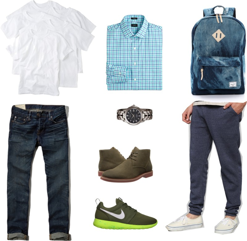 Here Are 10 Basic Wardrobe Essentials For College Guys ...