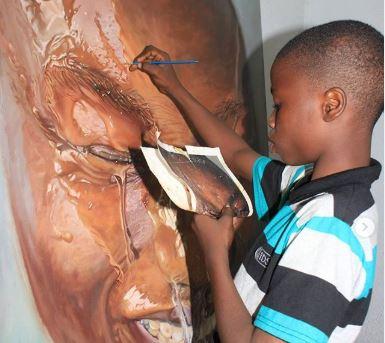 Kareem Waris Olamilekan: 11-Year-Old Nigerian Artist Beats 2,723 ...