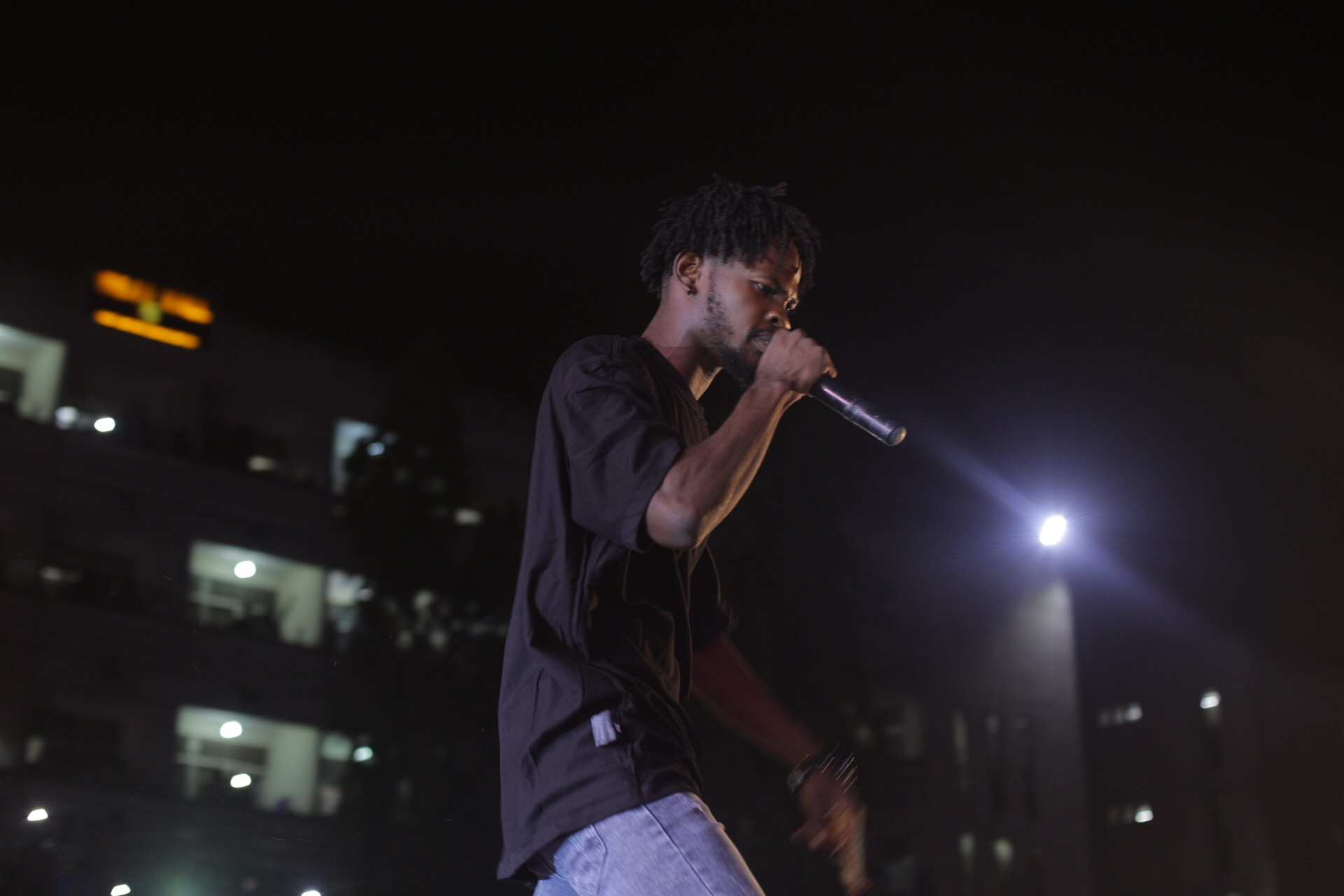 Fameye on stage