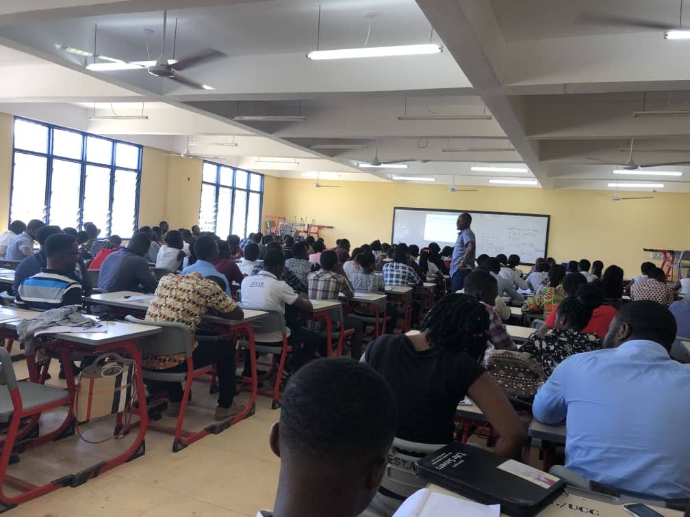UCC Students are back in class. Photo credit: Kuulpeeps UCC