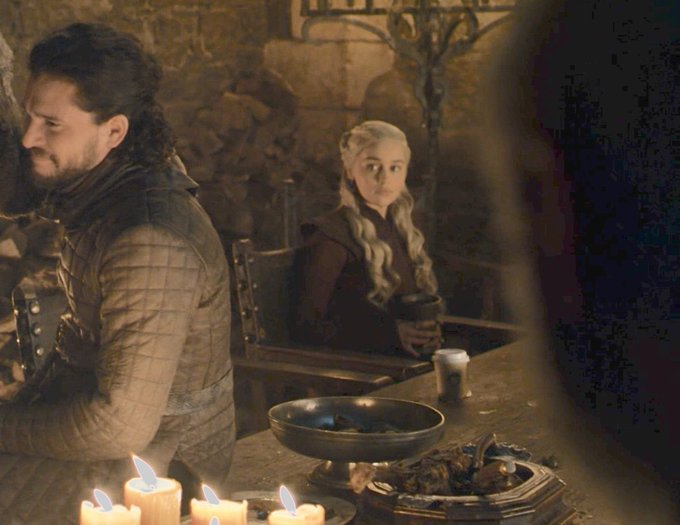 Emilia Clarke in Game of Thrones. HBO