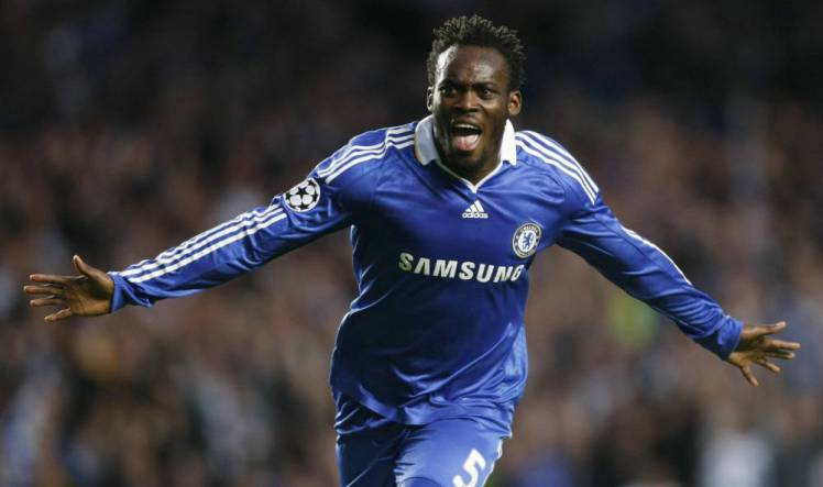 Michael Essien Named As One Of The Best Players Ever To Wear Each ...
