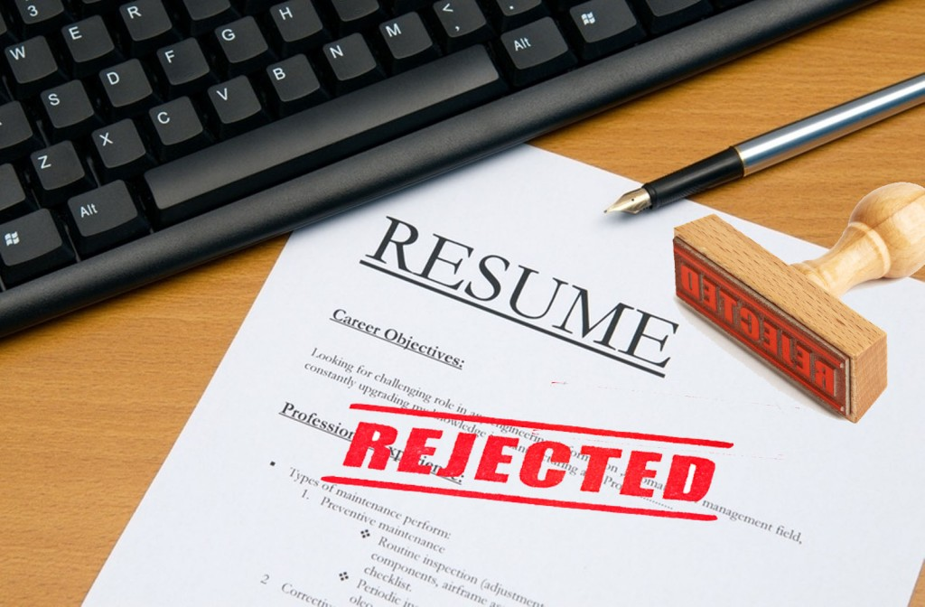 Resume rejection