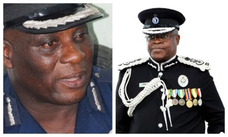 COP Tetteh Yohuno and acting IGP Oppong-Boanuh