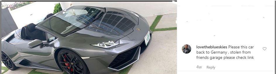 Lamborghini stolen in Switzerland found in Ghana with Nigerian plate number (photo) 2