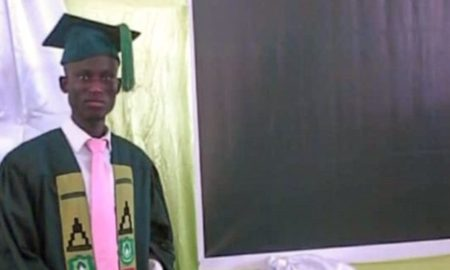 Zakaria Fuseni First Male Midwifery Student Graduates From UDS