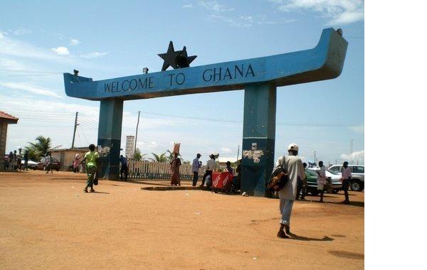 Ghana Togo border