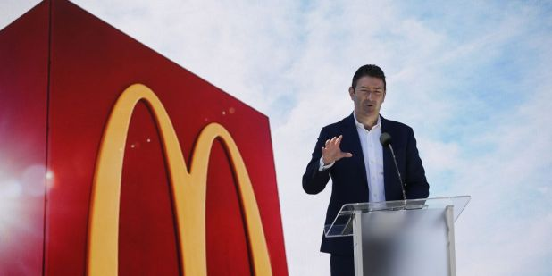 Chief Executive McDonalds