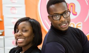 Debra Odutuyo and Andrew Osayemi. africanvoiceonline