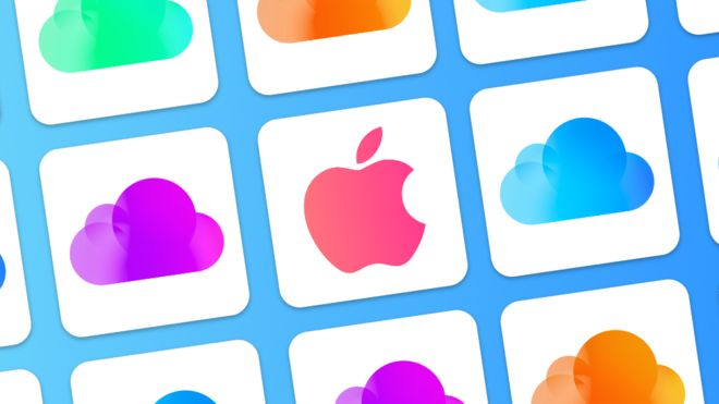 iCloud helps Apple customers back up their devices (BBC/APPLE)