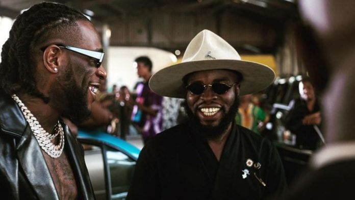 Manifest and Burna Boy in the 'Another Story' video