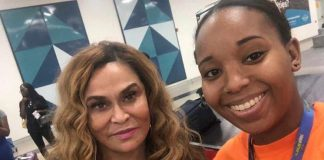 Beyonce's Mother Tina Lawson In Ghana