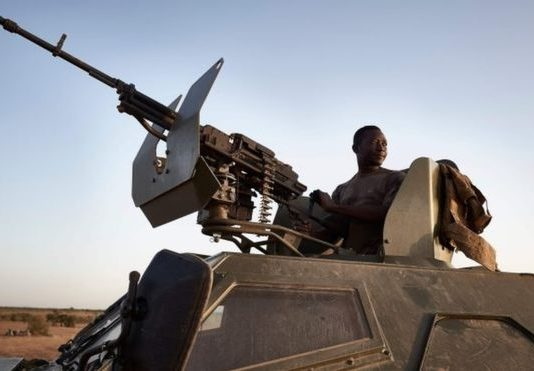 Security forces in Burkina Faso have been battling militants for years (Image copyrightAFP/GETTY IMAGES)