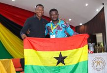 Erasmus Segbefia & Michael Ampah won the Pan-African Universities Debate Championship for KNUST