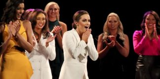 Camille Schrier defeated 50 women to take the crown at the final in Uncasville, Connecticut (Getty Images)