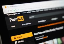 PornHub website