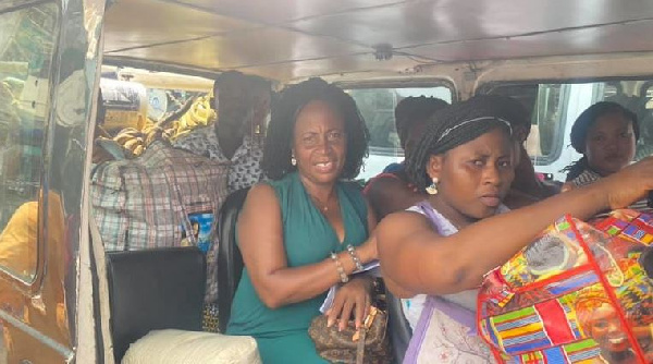 MP for Ada Madam Doyo Cudjoe