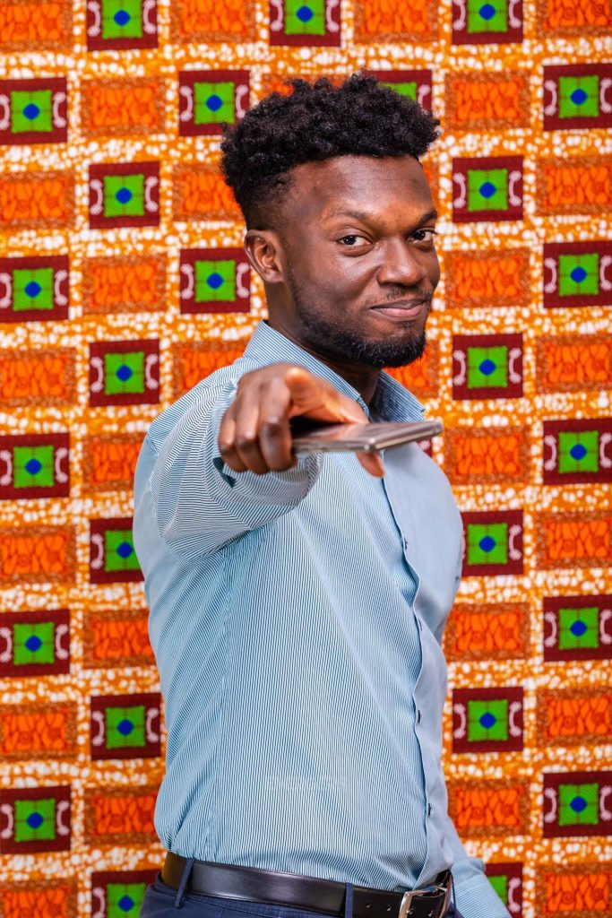 Kobby Spiky Nkrumah in Emergers 2020. Photo Credit: Kuulpeeps.com