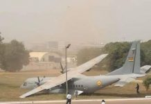 Ghana Air Force aircraft, CASA C295 (credit: Citizen Ayeebo/Facebook)