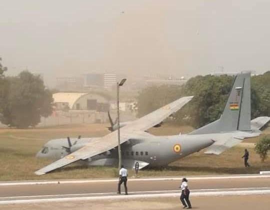 Ghana Air Force aircraft, CASA C295 (credit: Citizen Ayeebo/Facebook)