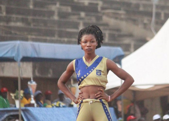 University of Ghana Sprinter, Grace Obour (photo: citi sports)