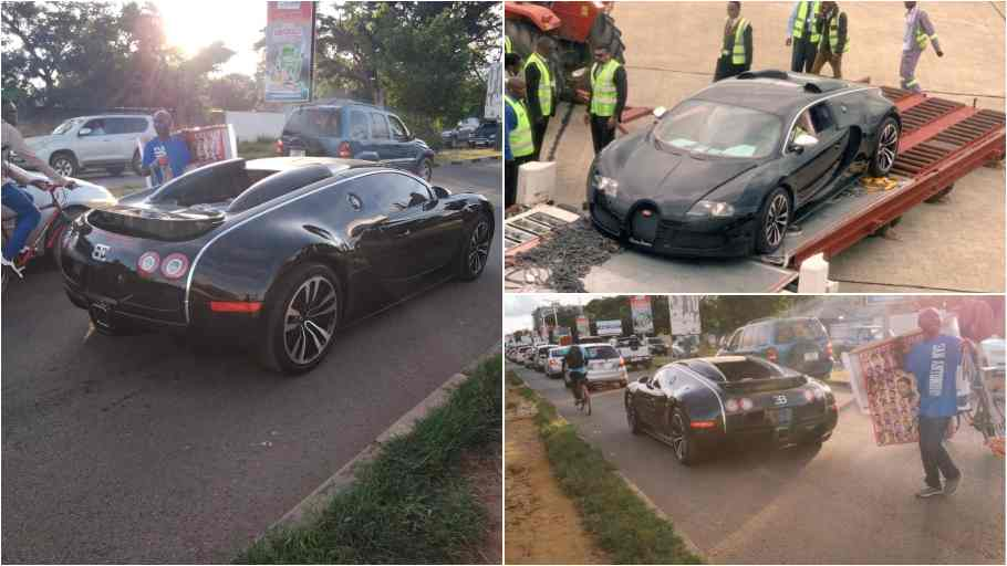 Bugatti Seized In Zambia Over Possible Money Laundering - Kuulpeeps - Ghana Campus News and ...