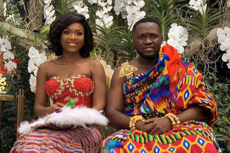 Kennedy and Tracy Akosua Gyamfuaa Ameyaw
