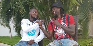 Funny Face and Emmanuel Adebayor