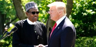 Donald Trump and Muhammadu Buhari