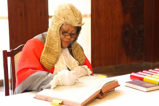 Justice Mabel Agyemang Turks and Caicos Islands