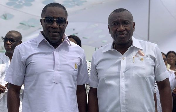 DR OSEI KWAME DESPITE & DR ERNEST OFORI SARPONG of DESPITE GROUP OF COMPANIES & SPECIAL GROUP OF COMPANIES